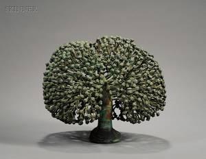 Harry Bertoia American 19151978 Untitled Small Split Bush