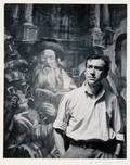 Nicholas Dean American b 1933 Two Portraits Hyman Bloom