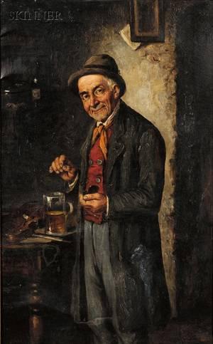 Continental School 19th20th Century Portrait of a Man