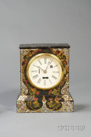 IronFront Shelf Clock by the Terry Clock Company