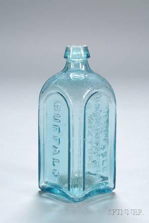 Aqua Vaughns Vegetable Lithontriptic Mixture Medicine Bottle