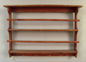 Custom hanging plate rack