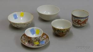 Six Assorted Small Asian Porcelain Bowls