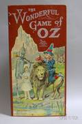 Parker Brothers Chromolithographed Game Board The Wonderful Game of Oz