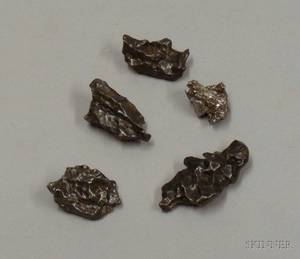 Five Metal Meteorites