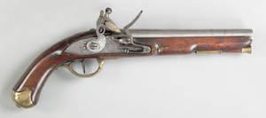 English Tower Light Dragoon flintlock pistol ca 1780