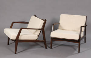 Pair of Lounge Chairs Attributed to Selig
