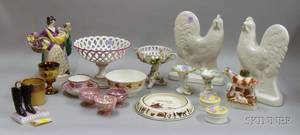 Group of Assorted Ceramic and Porcelain Table Items