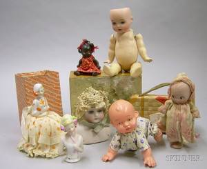 Large Assortment of Table Games Dolls and Accessories
