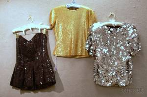 Large Group of Vintage and Designer Evening Wear