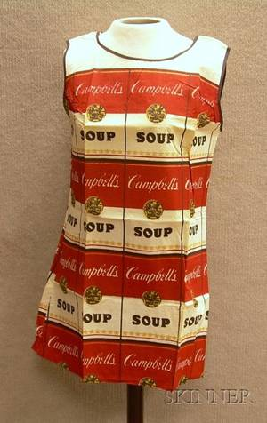 Vintage Andy Warhol The Souper Dress