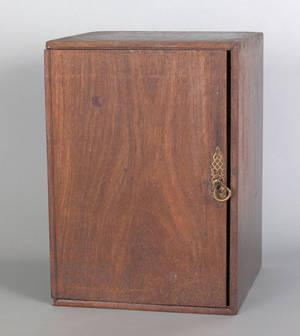 Georgian mahogany and oak valuables chest mid 18th c