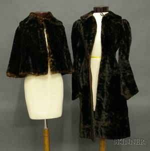 Small Group of 19th Century Clothing and Accessories