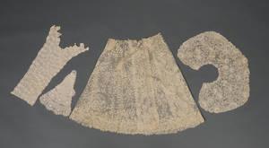 Four Needle or Crochet Lace Clothing Embellishments