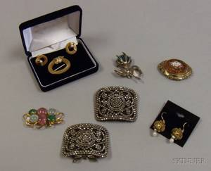 Small Group of Assorted Costume and Estate Jewelry