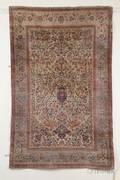 Kashan Silk Rug
