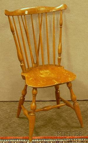 Windsor Fanback Braceback Side Chair