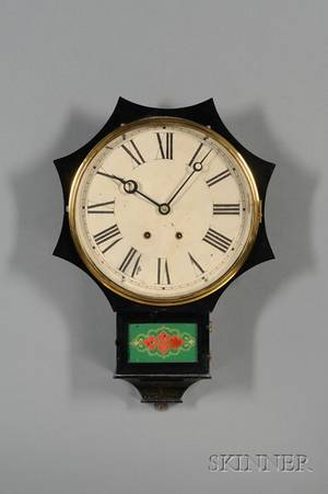 IronFront Wall Clock by the Terry Clock Company