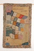 Wool and Cotton Hooked Rug of Windsor County Vermont