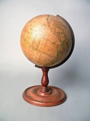 Table top terrestrial globe by Joslin
