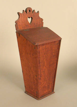 English oak pipe box