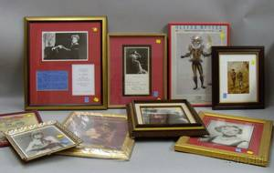 Group of Framed Photographs and Theater Related Prints