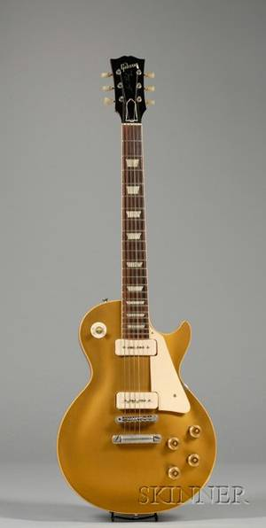American Electric Guitar Gibson Incorporated Kalamazoo 1955 Model Les Paul