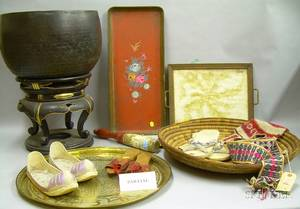 Group of Asian and Decorative Items
