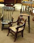 Three 19th Century Childrens Chairs