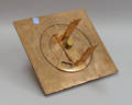 Copper and Brass Adjustable Sundial
