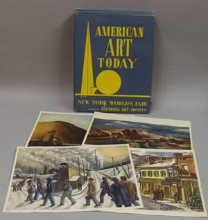 Ten American Art Today Folios