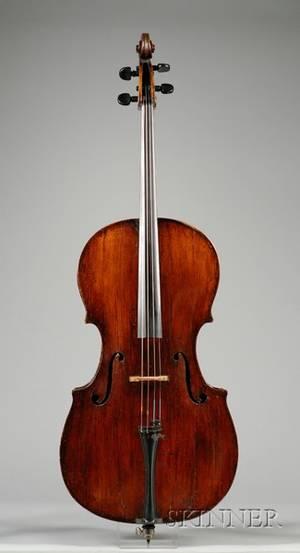 Italian Violoncello Milan School c 1740
