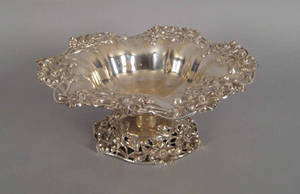 New York art nouveau sterling silver bowl early 20th c