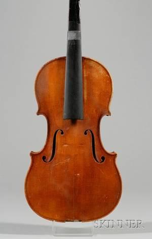 German Violin Wenzel Fuchs Erlangen c 1970