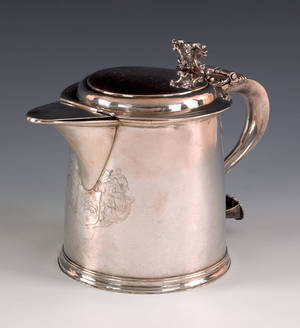 Boston Massachusetts silver tankard ca 1710