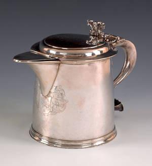 Boston Massachusetts silver tankard ca 1710