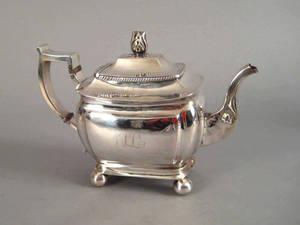 Philadelphia silver teapot ca 1813