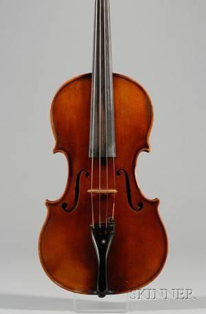 Czech Violin c 1900