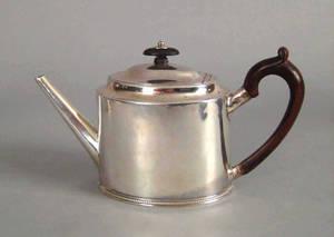 Georgian silver teapot 17831784