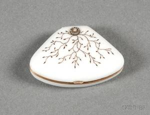 Russian Silver and Enamel Snuff Box