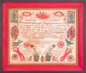 Johann Friederich Krebs Southeastern Pennsylvania active 17841812