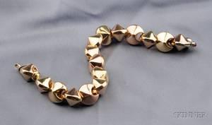 14kt BiColor Gold Bracelet