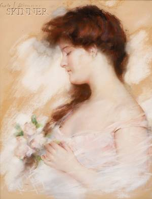 Carle John Blenner American 18621952 Ideal Head