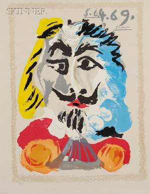 After Pablo Picasso Spanish 18811973 Image from PORTRAITS IMAGINAIRE