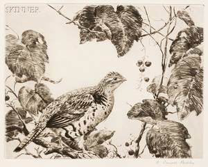 Aiden Lassell Ripley American 18961969 Grouse and Grapes