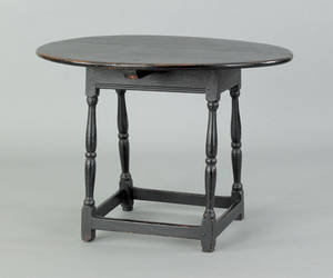 New England painted tavern table late 18th c