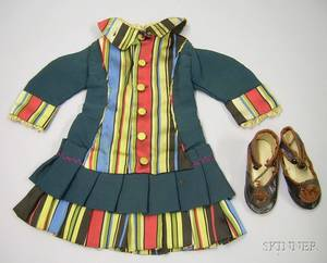 Handcrafted Bebe Dress and Shoes
