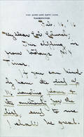 Three explorer Robert Peary signed letters