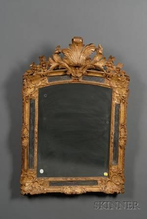 Louis XVstyle Giltwood MirrorframedMirror