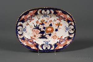 English Derby Imari Palette Platter